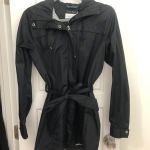 Black Columbia Raincoat